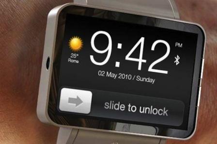ساعة آبل الذكية iWatch ستحمل شاشة مرنة