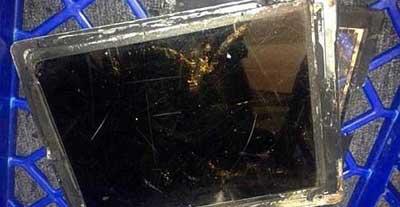 انفجار جهاز ايباد اير في متجر أسترالي