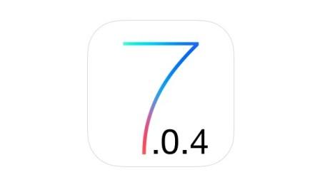 إطلاق تحديث iOS 7.0.4 ، و الجيلبريك قادم بداية العام المقبل !