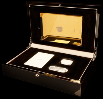 آيباد آير iPad Air من الذهب و البلاتين !