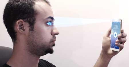 تصور: ايفون 6 مع قارئ لقرنية العين !