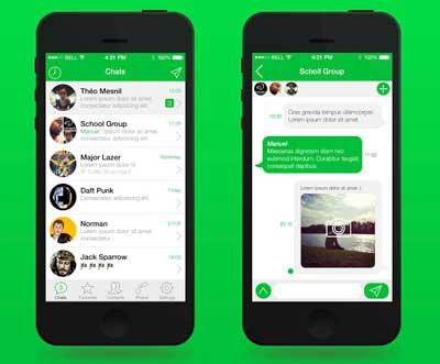 تحديث جديد لتطبيق WhatsApp يتلائم نظام iOS 7 ، والمزيد من المفاجآت !