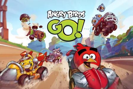 إطلاق لعبة Angry Birds Go مجاناً للآيفون و الآيباد !