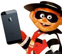 سرقة هواتف الآيفون بين الغرابة و الطرافة !