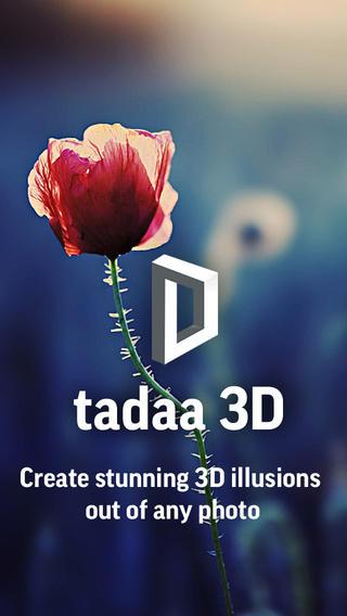 تطبيق tadaa 3D - مجاني لفترة محدودة !