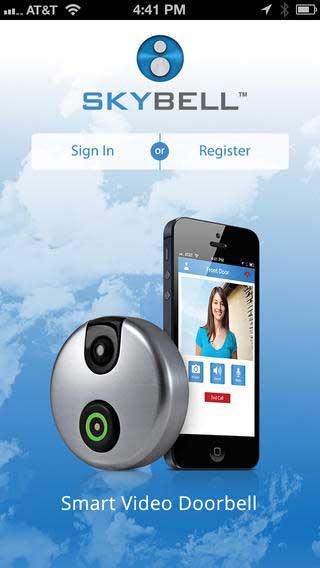 تطبيق SkyBell Doorbell