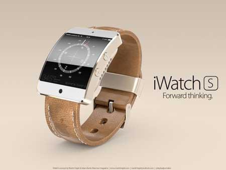 ساعة iWatch S ؟
