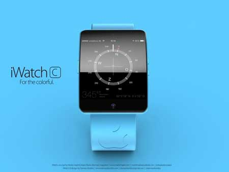 ساعة iWatch C ؟