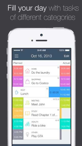 تطبيق TIME Planner