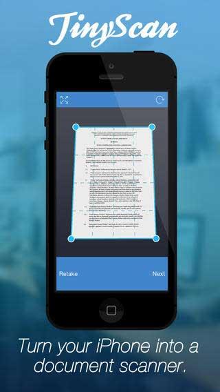 تطبيق TinyScan Pro