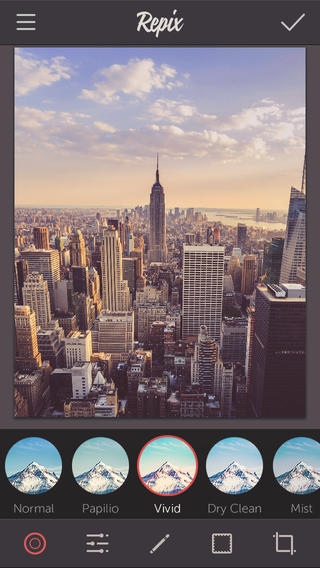تطبيق Repix - تطبيق رائع لتحرير الصور !