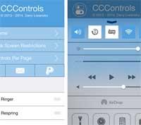 Photo of السيديا – أداة CCControls شاشة تحكم للاجهزة التي تعمل بنظام IOS 7 – رائع