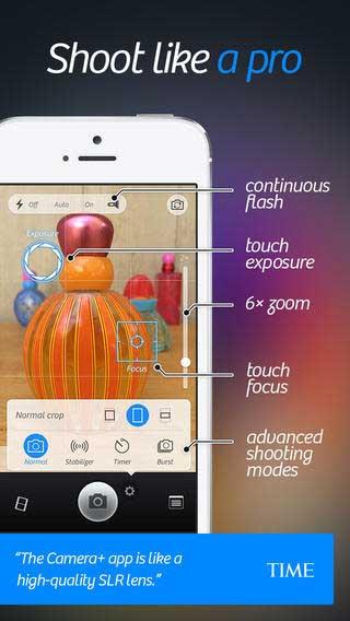 تحديث تطبيق Camera+