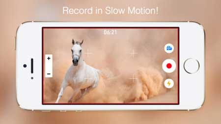 تطبيق SlowCam للتصوير البطيء