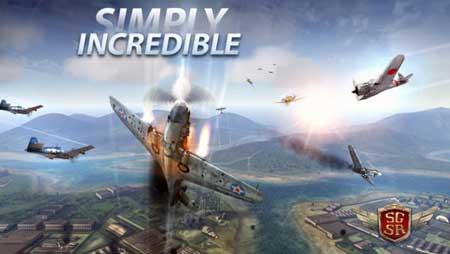 لعبة الطائرات Sky Gamblers