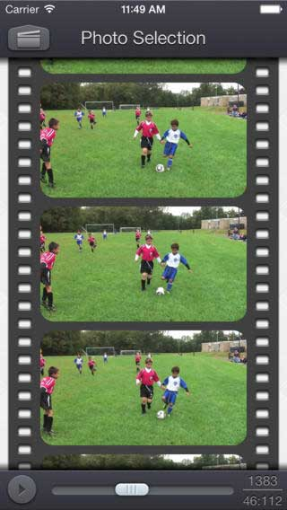 تطبيق Video 2 Photo لتحويل الفيديو إلى صور