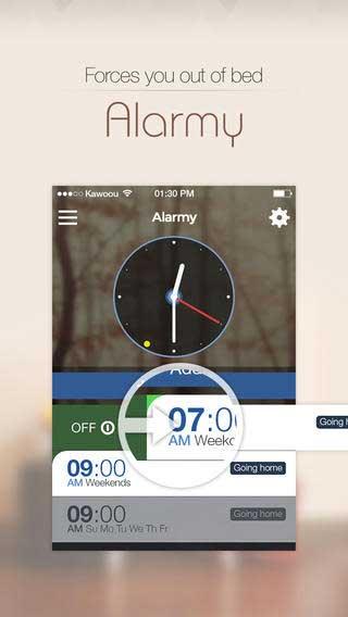 تطبيق Alarmy منبع رائع