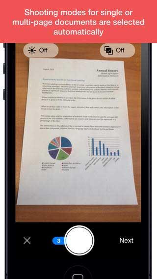 تطبيق FineScanner لتحويل جهازك لماسح ضوئي