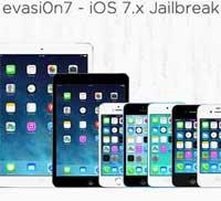 صورة تحديث evasion7 لدعم جيلبريك iOS 7.0.5 وخطوات التركيب بالفيديو