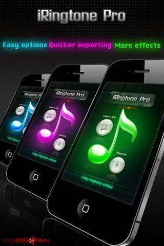 تطبيق iRingtone pro لإنشاء نغمات خاصة بك !