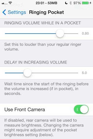 أداة Ringing Pocket لزيادة صوت الجهاز في جيبك