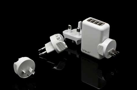 شاحن كهربائي يدعم جميع الأجهزة
