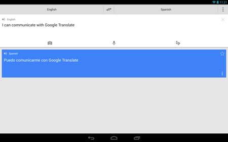 تحديث تطبيق ترجمة جوجل للأندرويد