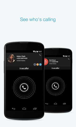 تطبيق Truecaller لمعرفة من المتصل