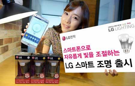 مصابيح ذكية من شركة LG