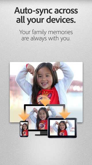 تطبيق Adobe Revel السحابي