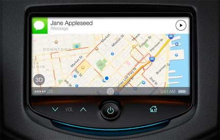 نظام الملاحة iOS في السيارات