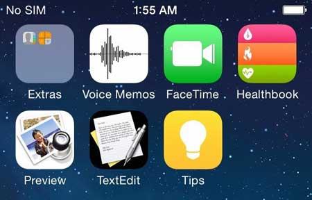 برامج جديدة في iOS 8