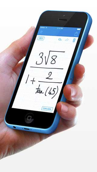 تطبيق MyScript Calculator