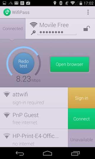 تطبيق WifiPass - Free internet