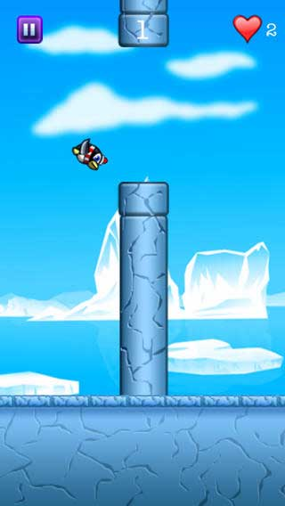 لعبة Happy Flappy Penguin