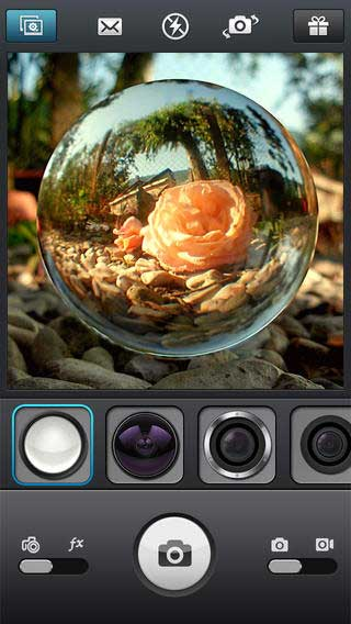 تطبيق InstaFisheye - LOMO Fisheye Lens for Instagram