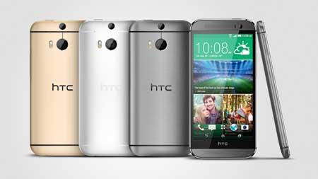 ألوان جهاز HTC M8