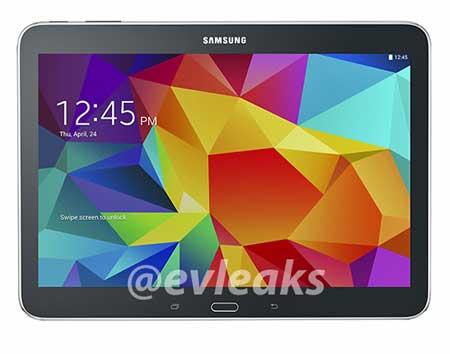 جهاز Galaxy Tab 4 10.1 الأسود
