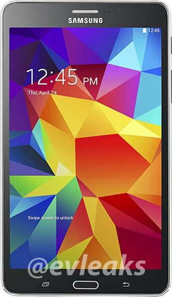 جهاز Galaxy Tab 4 7.0 الأسود