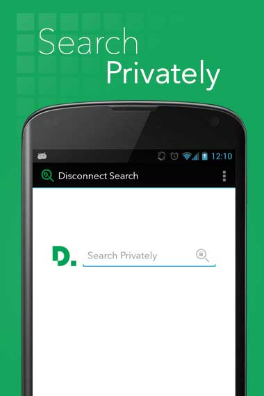 تطبيق Disconnect Search