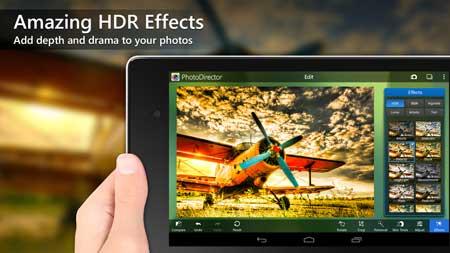 تطبيق PhotoDirector - Photo Editor للاندرويد