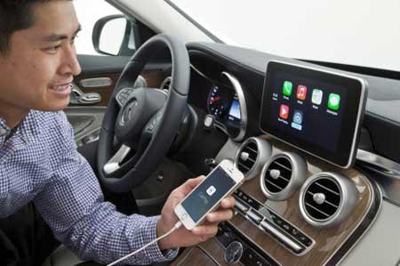 نظام CarPlay في السيارات