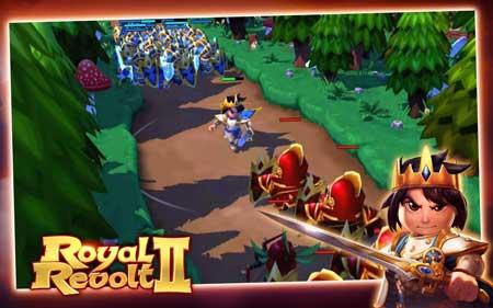 لعبة Royal Revolt 2 للاندرويد