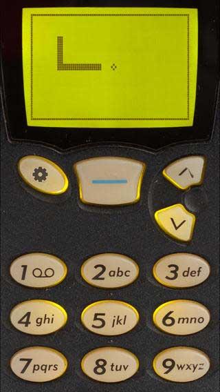 لعبة Snake '97 الدودة على هواتف نوكيا