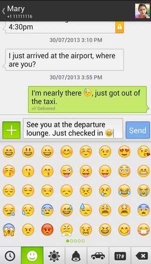 تطبيق Textra SMS للاندرويد