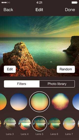 تطبيق Filtery أفضل تطبيق فلاتر وتحرير صور