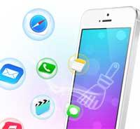 تسريع وتنظيف جهازك الايفون والايباد من الملفات الزائدة