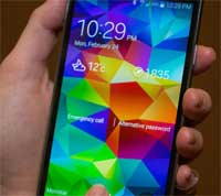 صورة هاتف جالاكسي S5 يحصل على الروت حتى قبل البيع الرسمي