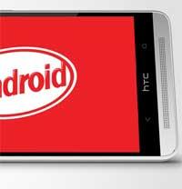 صورة جهاز HTC ONE يحصل على الأندرويد كيت كات في إنجلترا