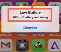 حل مشكلة انهيار بطارية الأيفون والآيباد بسرعة